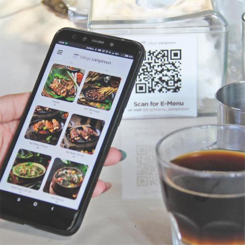 Tersedia menu online